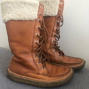 Ralph Lauren Lace up gum boots